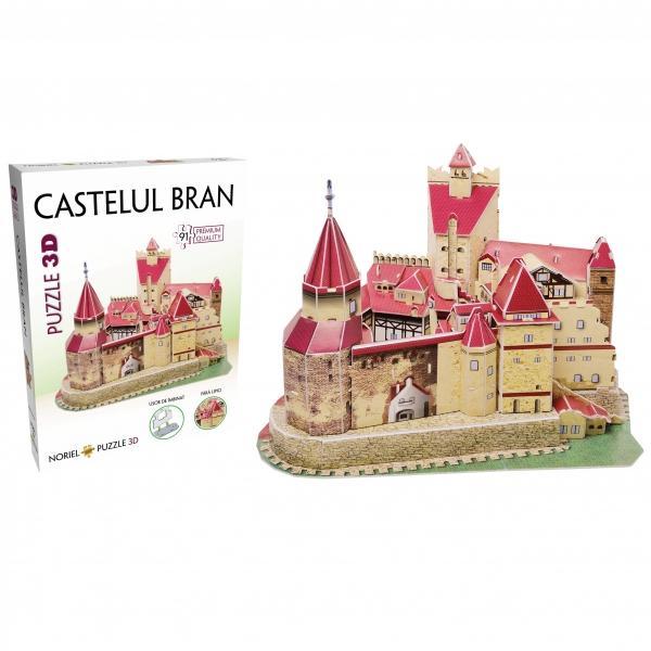 Noriel Puzzle 3D - Castelul BranCreeaz&259; replici fantastice ale unora dintre cele mai frumoase &537;i mai celebre cl&259;diri&206;mbin&259; piesele realizate din spum&259; poliuretanic&259; &537;i construie&537;te singur un model de invidiatNumar de piese 91