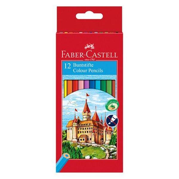 Faber-Castell este o companie germana de instrumente de scris Este una dintre cele mai mari si mai vechi companii producatoare de pixuri creioane rechizite de birou precum capsatoare rigle radiere si rechizite artistice precum si de instrumente de scris de lux si de articole din piele Compania care isi are sediul in orasul Stein Germania detine 14 fabrici si 20 de unitati comerciale in intreaga lumeCaracteristici- Forrma hexagonala;- Culori