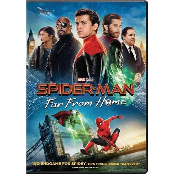 În Omul p&259;ianjen Departe de cas&259; Tom Holland revine în rolul super-eroului prietenos din vecini care - - dup&259; evenimentele din Avengers Endgame - trebuie s&259; intervin&259; pentru a se opune noilor amenin&355;&259;ri puse în fa&355;a lumii noastre care s-a schimbat pentru totdeauna Filmul extinde universul Spider-Man sco&355;ându-l pe