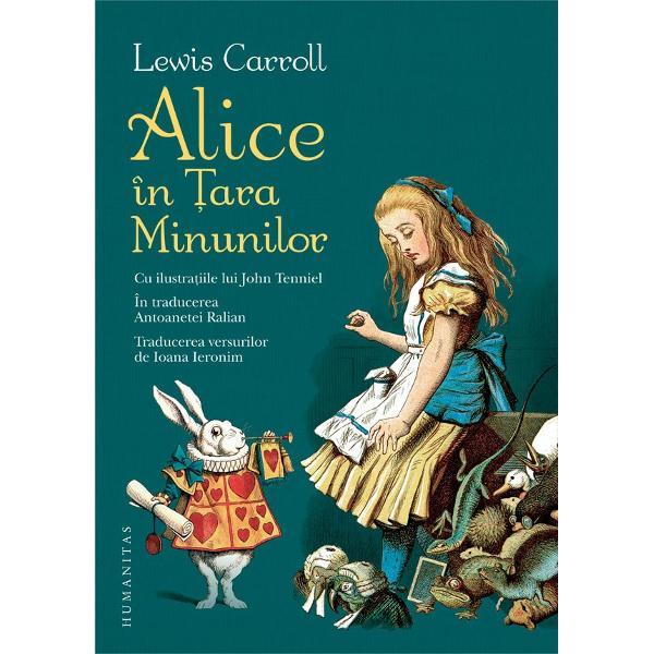 In anul 1862 un profesor de la Oxford pe numele lui Charles LutwidgeDodgson porne&351;te într-o plimbare cu barca pe râul Tamisa împreun&259; cucele trei feti&355;e ale prietenilor s&259;i dintre care una se nume&351;te AliceCa s&259;-&351;i distreze micu&355;ele înso&355;itoare cel ce mai târziu avea s&259;semneze cu pseudonimul Lewis Carroll pl&259;smuie&351;te pe loc aventurile uneifeti&355;e care porne&351;te pe urmele unui personaj
