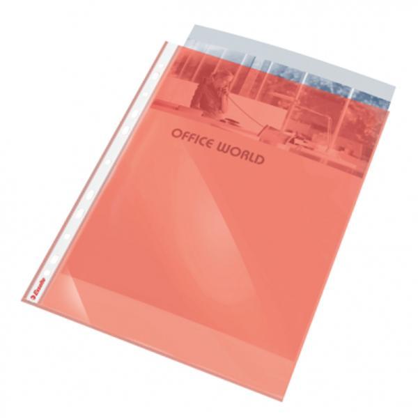 Folie de protec&539;ie de calitate pentru uz zilnic Marginea cu multiperfora&539;ii permite arhivarea documentelor în biblioraft sau caiet mecanic Folie de protec&539;ie tip cristal 006 mm grosime  55 microni Format A4 10 buc set- Folie din polipropilen&259; tip cristal 006 mm grosime  55 microni reciclabil&259; copysafe- Deschidere superioar&259; ce permite accesul la documente f&259;r&259; a scoate folia din biblioraftcaiet mecanic- 11