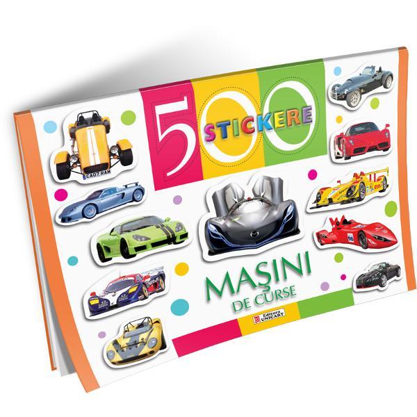500 Stickere - Masini de curse
