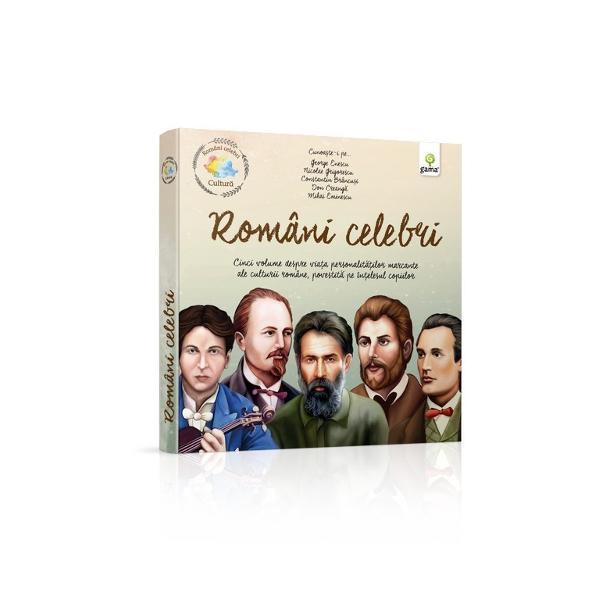 """Colec&539;ia""""Români celebri""""s-a n&259;scut din dorin&539;a de a-i familiariza pe copii cu personalit&259;&539;ile remarcabile ale culturii române&537;ti &537;i de a-i inspira s&259; viseze c&259; pot schimba &537;i ei într-o zi lumea în care tr&259;iesc Informa&539;iile biografice anoste cap&259;t&259; asemenea pove&537;tilor un fir narativ captivant iar personajele sunt urm&259;rite în"""