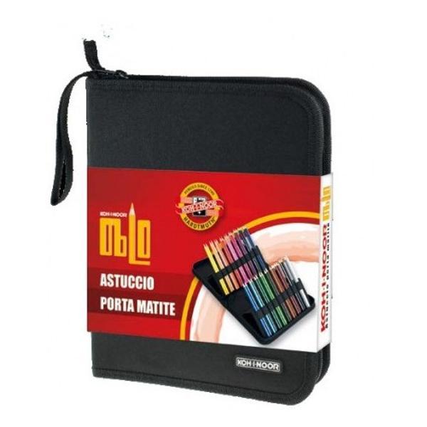 Penarul textil culoare negru are 2 extensii la interior care fixate OBLIC cu ajutotul ariciului ofera o accesare mai usoara a continutului acestuiaCapacitatea acestuia este de 12 creioane Jumbo sau 24 creioane clasiceNu este echipat - fotografiile sunt cu titlu exemplificativ