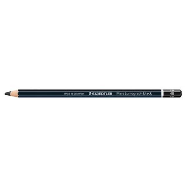 Creion grafit cu varf gros  Lumograph pentru artistiCalitate premiumIdeal pentru desenul de portrete si creare de umbre
