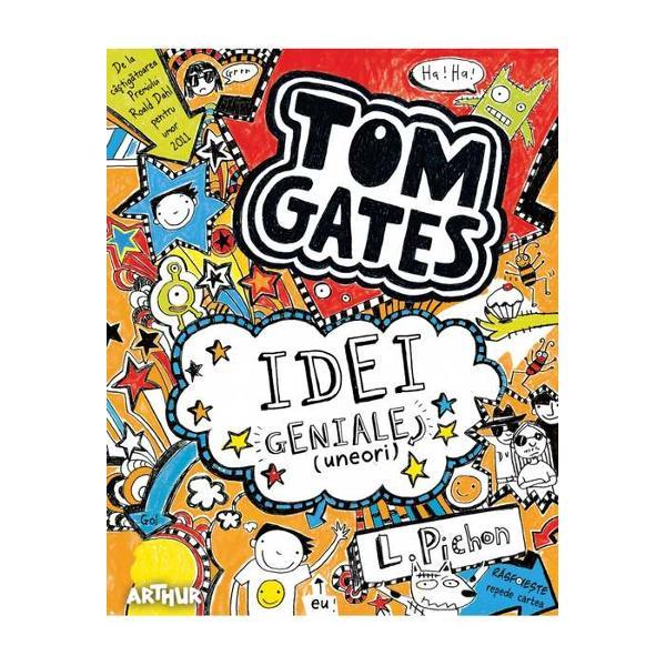 De la câ&351;tig&259;toarea Red House Childrens Book Award 2012De la câ&351;tig&259;toarea Waterstones Childrens Book Prize 2012ASTA e EXPRESIA de pe fa&355;a mea când îmi vine o IDEE GENIAL&258; se-ntâmpl&259; DES LuiMarcus îi place s&259; CREAD&258; c&259; are idei bune Dar majoritatea sunt ni&351;te TÂMPENII Când unchiulKevin zice c&259; e EXPERT în TOATE tata face fa&355;a asta