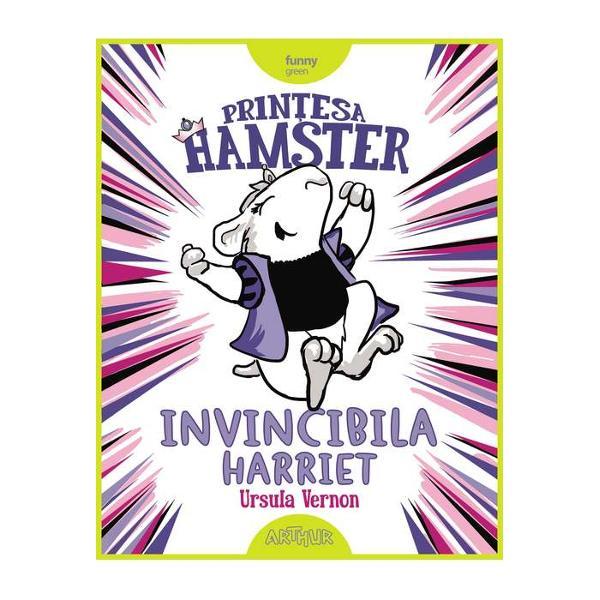 Harriet Hamsterbone nu este o prin&539;es&259; obi&537;nuit&259; În primul rând este un hamster În al doilea rând nu-i place s&259; ofteze &537;i s&259; le&537;ine Prefer&259; luptele cu sabia &537;i rezolvarea frac&539;iilor&536;i când afl&259; c&259; a fost blestemat&259; la na&537;tere s&259; cad&259; într-un somn adânc la împlinirea vârstei de doisprezece ani Harriet nu reac&539;ioneaz&259; a&537;a