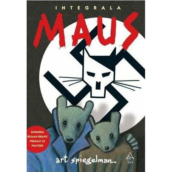 Maus este prima banda desenata care a primit un Premiu Pulitzer 1992Maus Povestea unui supravietuitor de Art Spiegelman este pe buna dreptate si din capul locului o carte fara precedent Un roman grafic complex aparut in doua volume la care autorul a lucrat in total treisprezece aniVolumul este structurat pe doua planuri pe de o parte unul real care prezinta relatia dintre tata Vladek si fiu Art; iar pe de alta parte planul povestii