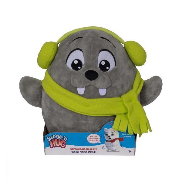 Pentru Baieti FeteVarsta 1 - 2 ani 2 - 3 ani 3 - 4 ani 4 - 5 aniCuloare GriBrand Snuggle and HugPlusurile Snuggle N Hug de la Snap Toys fac timpul de joaca o experienta minunata Acesti amuzanti prieteni artici au nevoie de o imbratisareO data ce vor fi imbratisati butonul din spate se va activa iar obrajii lor vor straluci pentru a arata cat de confortabil se simtAscultati pana la 10 fraze si sunete diferite de fiecare data cand apasati aceste