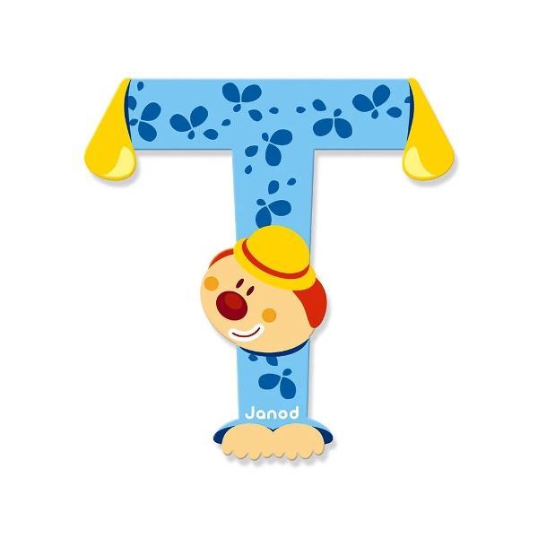 Litera T din lemn este ideal pentru decorarea camerei copilului Este de asemenea un cadou original pentru copilul dumneavoastra sa se familiarizeze cu alfabetul si astfel incepe sa-si scrie primele cuvinteNota- Acest produs este disponibil in mai multe culori- Produsul se vinde individual- Va rugam sa mentionati culoarea dorit in formularul de comanda din campul comentarii- Livrarea culorii dorita se face in functie de stocul