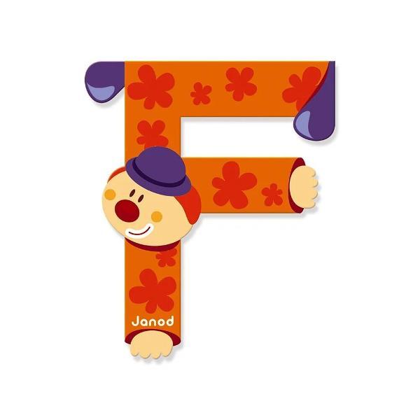 Pentru Baieti FeteVarsta 3 - 4 ani 4 - 5 aniBrand JanodLitera F din lemn este ideal pentru decorarea camerei copilului Este de asemenea un cadou original pentru copilul dumneavoastra sa se familiarizeze cu alfabetul si astfel incepe sa-si scrie primele cuvinteNota- Acest produs este disponibil in mai multe culori- Produsul se vinde individual- Va rugam sa mentionati culoarea dorit in formularul de comanda