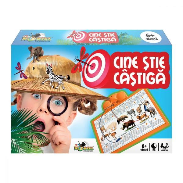 Jocul NORIEL - Cine stie castigaeste un joc clasic de cultura si inteligenta in care adevarata miza este distractiaInvata si amuza-te copios cu cel mai spectaculos joc educativ Jocul este special conceput pentru testarea si imbogatirea cunostintelor de cultura generala precum si dezvoltarea atentiei distributive a copiilorCaracteristiciobiectivul jocului este asocierea corecta a imaginilor de pe plasa in functie