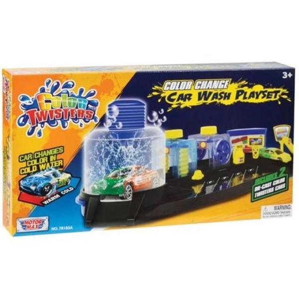 Set de joaca Noriel- Spalatorie de masini Motormax Color TwistersPentruBaietiVarsta3 - 4 ani 4 - 5 ani 5 - 7 ani 7 - 8 ani 8 - 10 aniTip