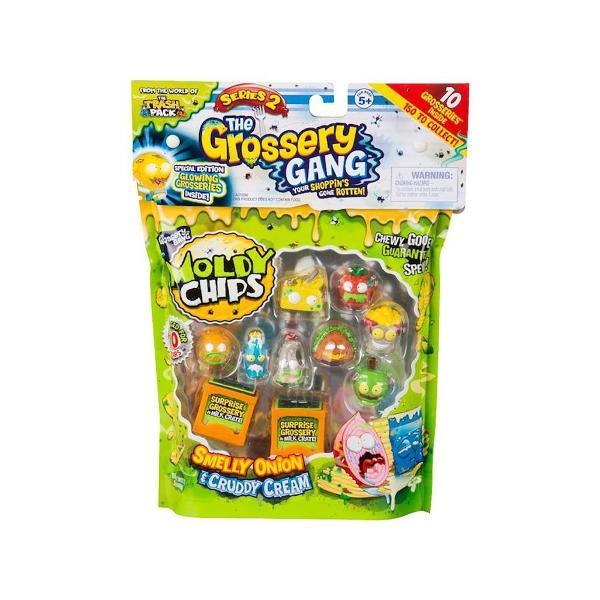 Pentru BaietiVarsta 5 - 7 ani 7 - 10 ani 10 - 12 aniCuloare MulticolorColectie Grossery GangBrand Grossery GangSetul de