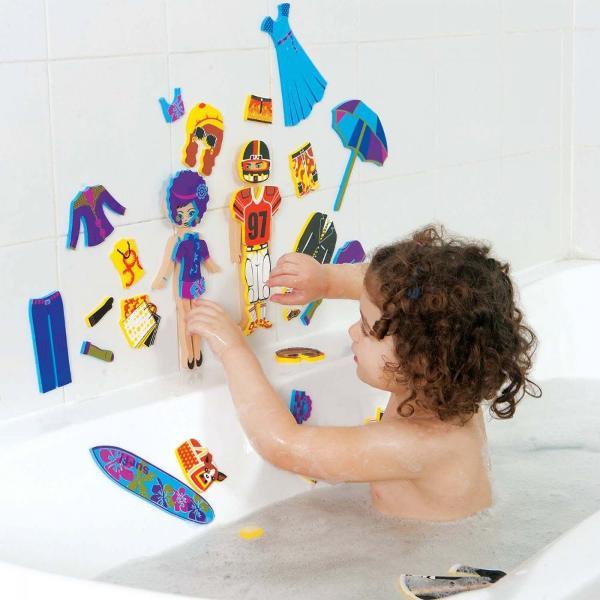 Pentru Baieti FeteVarsta 3 - 4 ani 4 - 5 aniCuloare MulticolorBrand EdushapeUda figurinele si lipeste-le pe faianta si pe marginea cazii ca sa