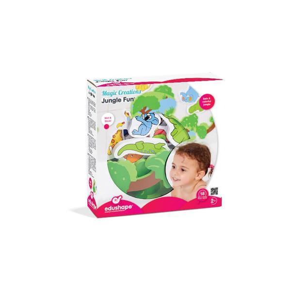 Pentru Baieti FeteVarsta 1 - 2 ani 2 - 3 aniCuloare MulticolorBrand EdushapeUda figurinele si lipeste-le pe faianta si pe marginea