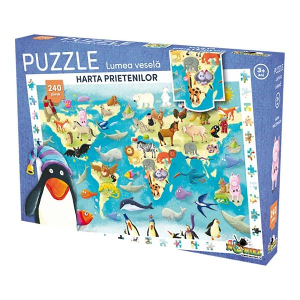 PentruBaieti FeteVarsta3 - 4 ani 4 - 5 ani 5 - 7 aniNumar piese puzzle200 - 499Colectie puzzleLumea veselaBrandNoriel Puzzlediv