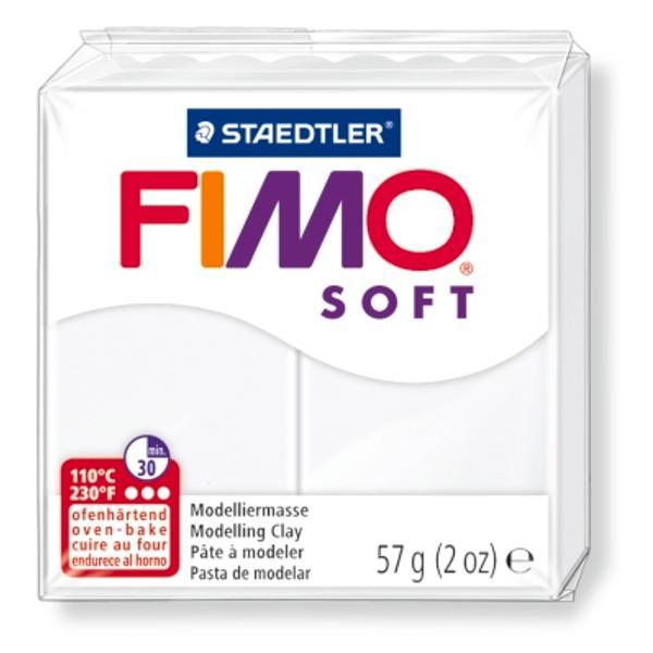 Pachet cu pasta de modelat la cald in cuptor FIMO SoftO gama cu 24 de culori clasice stralucitoareDimensiuni pachet 55 x 55 x 15 mm 55 g
