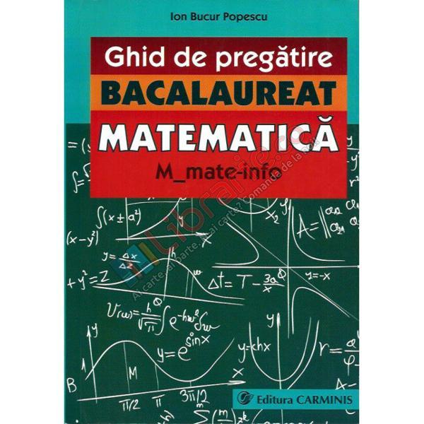 Bacalaureat matematica MMate-Info 2015