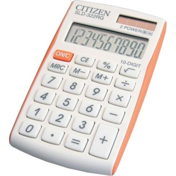 Calculator 10 cifre fabricat de compania Citizen Design simplu &537;i u&537;or de utilizat butoane confortabile din plastic Calculatorul ofer&259; un func&539;ional avansat cum ar fi func&539;ii matematice buton  func&539;ie oprire automat&259; 2 surse de energie element solar &537;i baterie