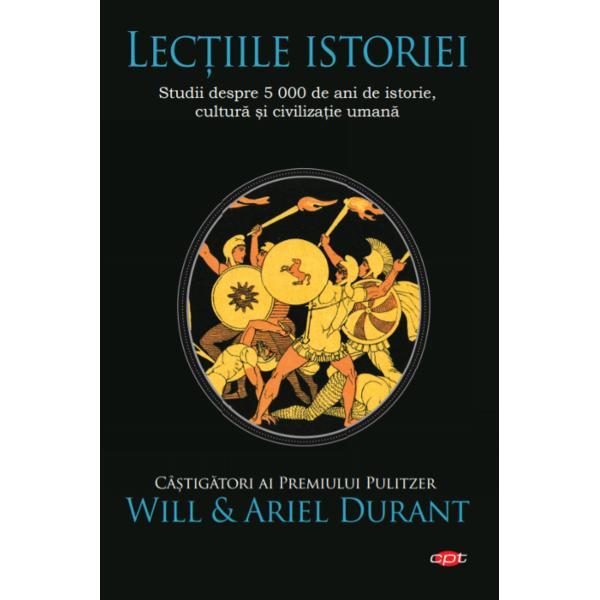 Un studiu concis al culturii &537;i civiliza&539;iei omeniriiLec&539;iile istorieieste rezultatul muncii de o via&539;&259; a istoricilor câ&537;tig&259;tori ai Premiului Pulitzer Will &537;i Ariel Durant care au reu&537;it în paginile acestei c&259;r&539;i s&259; prelucreze pentru cititor imensa cantitate de informa&539;ii &537;i experien&539;&259; dobândit&259; în urma celor patru decenii în care &537;i-au conceput