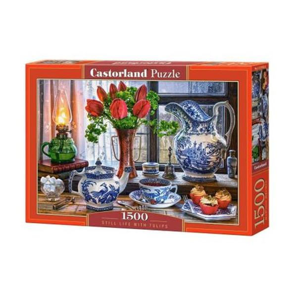 Brand CastorlandNum&259;r piese1500 bucVârsta12 aniDimensiuni puzzle asamblat68 x 47 cmMaterial carton