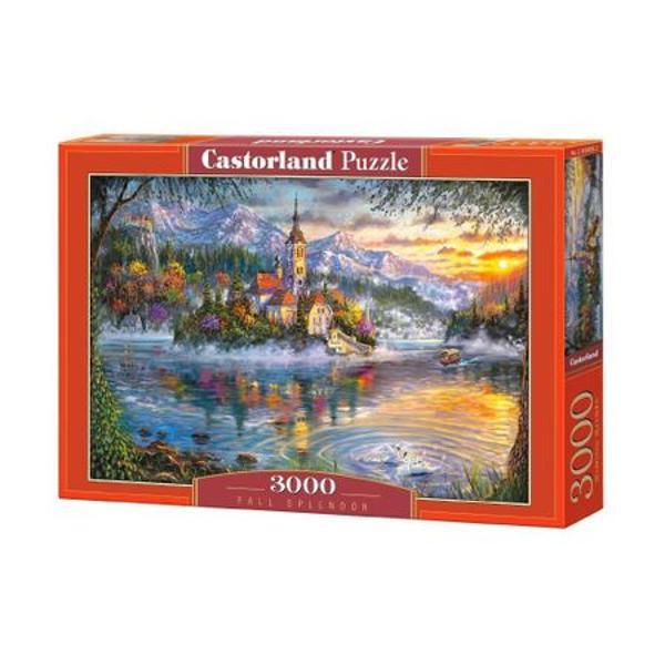 - Puzzle cu 3000 de piese;- Dimensiunea finala a puzzle-ului este de 92 cm x 68 cm