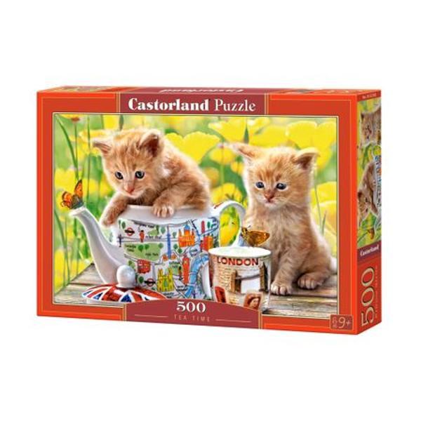 Puzzle cu 500 de pieseUn puzzle marca Castorland fabricat in Polonia cu 500 de piese care atunci cand este finalizat masoara 470 x 330 mmDimensiunea aproximativa a unei piese este de 310 cm2