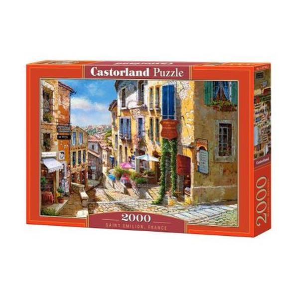 - Puzzle cu 2000 de piese;- Dimensiunea finala a puzzle-ului este de 92 cm x 62 cm
