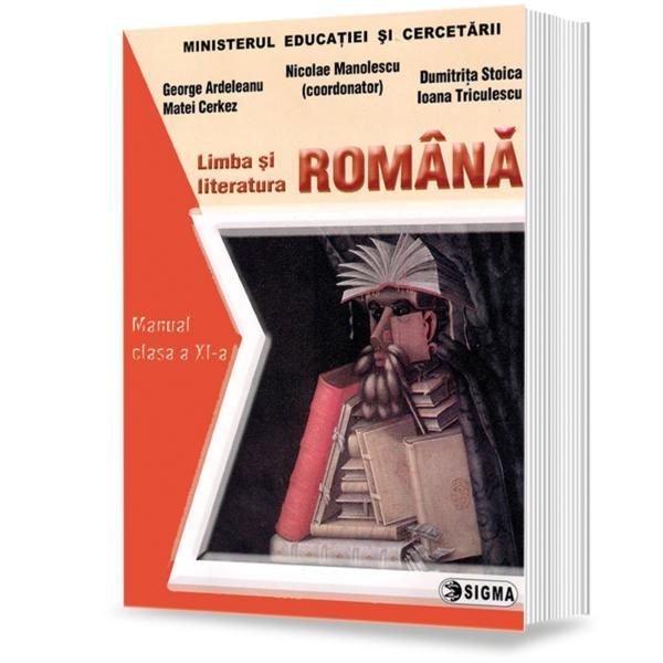 Limba si literatura romana clasa a XI-a