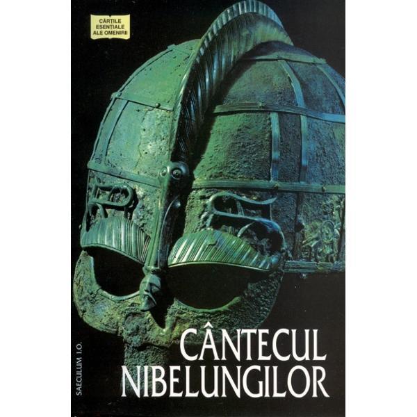 Ciclul epic creat in lumea germanica in jurul legendei lui Siegfried a Brunhildei si a Nibelungilor reprezinta rodul unei lungi si complicate elaborari Profunzimea complexitatea si varietatea temelor care cladesc laolalta Cantecul Nibelungilor personajele si episoadele acestei povesti eroice oglindesc o noua viziune asupra Lumii si destinului transpusa in cea mai frumoasa poema medievala din cate s-au pastrat pana in zilele noastre