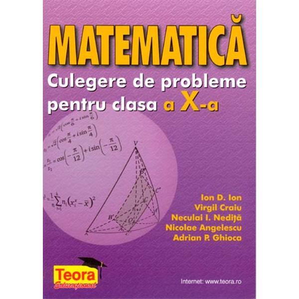 Matematica - culegere clasa a X-a