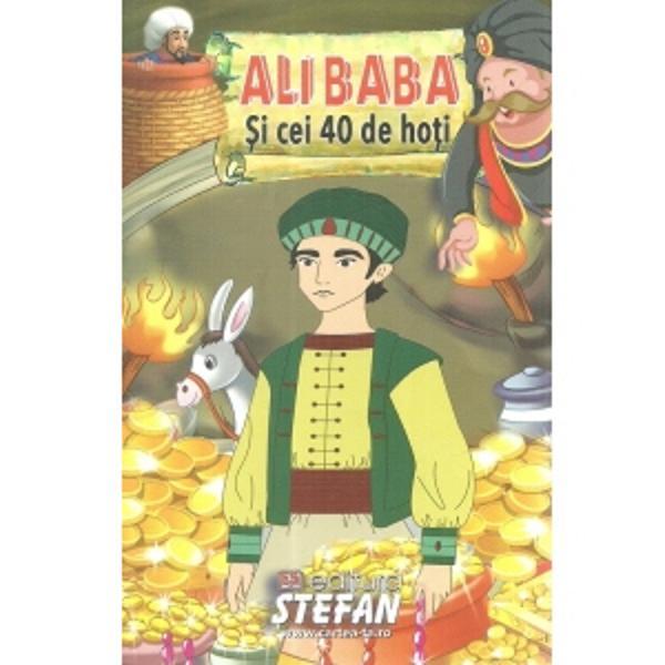 Intr-o zi Ali Baba un biet taietor de lemne descopera o pestera secreta plina de comori Este un vis devenit realitate Oare