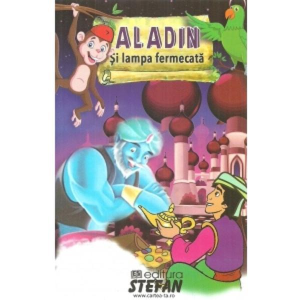 Fiul unui croitor sarac lui Aladin nu-i place sa faca nimic altceva cat e ziua de lunga decat sa piarda vremea Asta pana cand un vrajitor din Africa ce pretinde ca este unchiul sau il ia cu el intr-o calatorie in afara orasului si-l ajuta sa descopere o comoara fabuloasa intr-o pestera ascunsa in munti