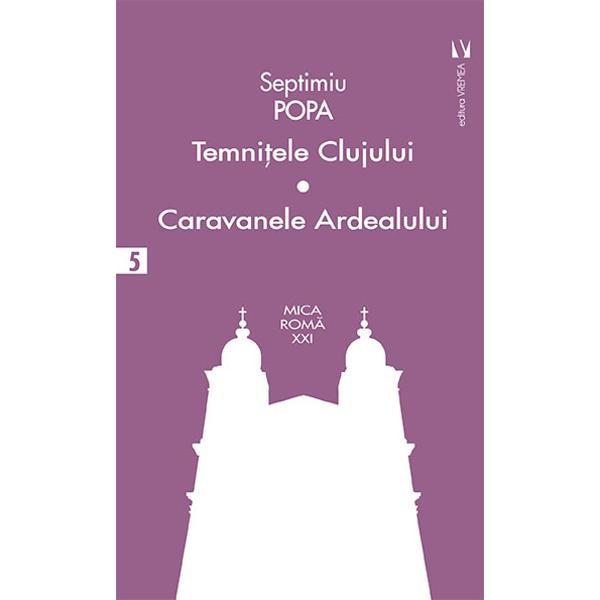 """Cea mai frumoas&259; carte a lui Septimiu Popa esteCaravanele Ardealului prinos de recuno&537;tin&539;&259; al autorului pentru Blajul studiilor &537;i forma&539;iei intelectuale &537;i morale Se poate citi ca un roman istoric al Blajului al Bisericii &537;i &536;colilor sale în secven&539;e cu registre evocatoare alternative toate constituind o m&259;rturisire de recuno&537;tin&539;&259; a unui fost înv&259;&539;&259;cel pentru """"urbea"""