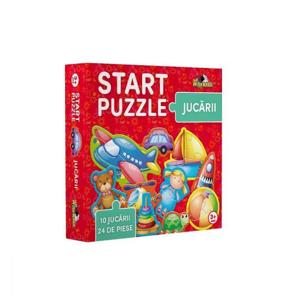 Noriel Puzzle - Start Puzzle Animale la ferma  Noriel  Pentru Baieti FeteVarsta 3 - 4 ani 4 - 5 aniNumar piese