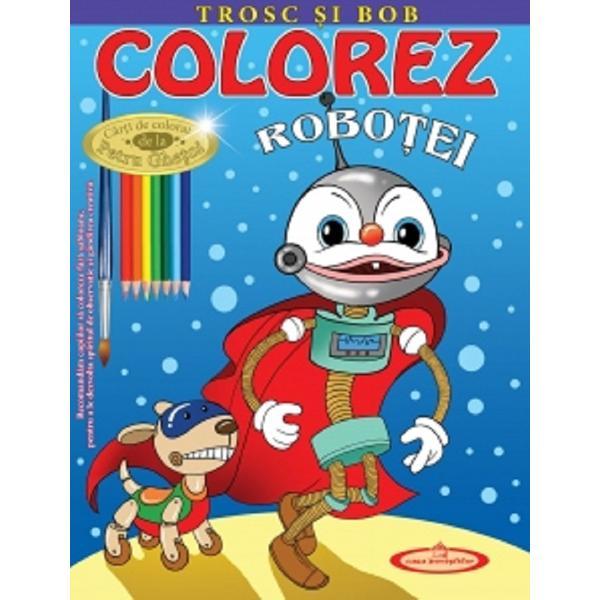 Recomandam copiilor sa coloreze fara sabloane pentru a le dezvolta spiritul de observatie si gandirea creativa