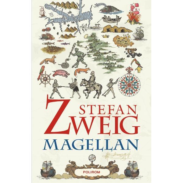 """În 1518 Magellan îl convinge pe regele Spaniei Carol Quintul s&259; întreprind&259; un proiect nebunesc """"Exist&259; o strîmtoare între Oceanul Atlantic &351;i Oceanul Pacific O &351;tiu Cunosc locul unde se afl&259; Da&355;i&8209;mi o flot&259; &351;i v&259; voi ar&259;ta calea de trecere pornind de la r&259;s&259;rit spre apus pentru a ocoli întreg P&259;mîntul"""" În anul urm&259;tor va porni în ultima"""