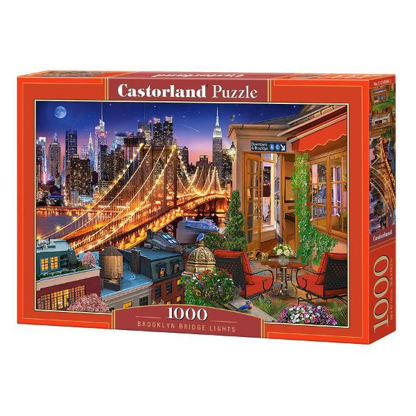 Brand CastorlandNum&259;r piese1000 bucVârsta 9 aniDimensiuni puzzle asamblat68 x 47 cmMaterial carton