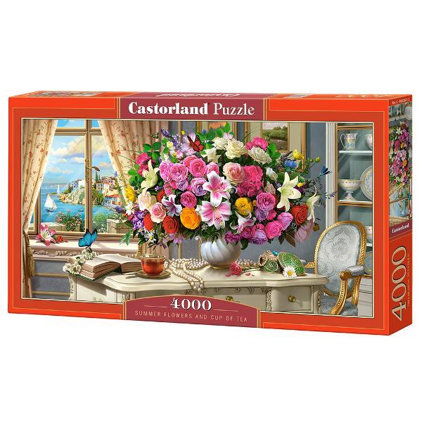 Brand CastorlandNum&259;r piese4000 bucVârsta 9 aniDimensiuni puzzle asamblat138 x 68 cmMaterial carton