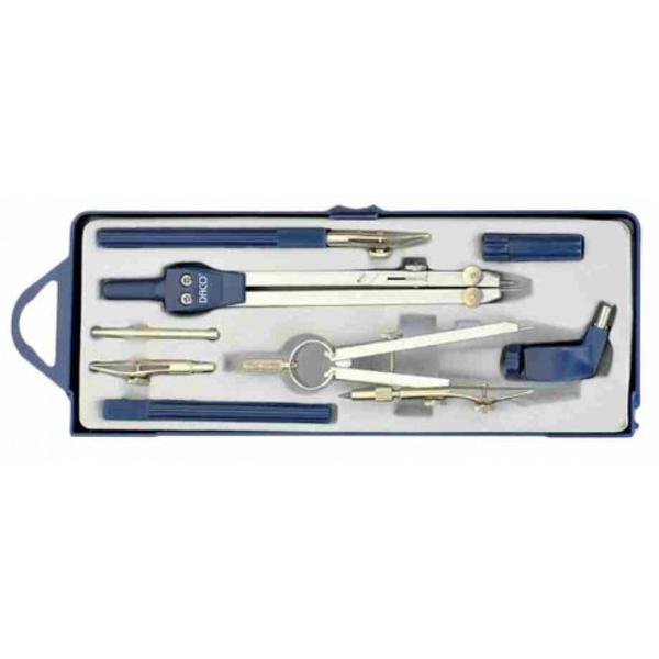 - compas metalic diametru maxim 42cm- 7 accesorii incluse- pentru elevi studenti si profesionisti