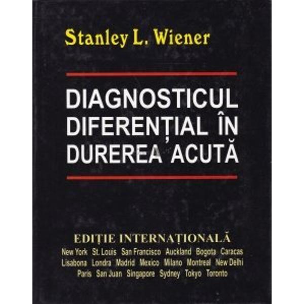 Diagnosticul diferential in durerea acuta