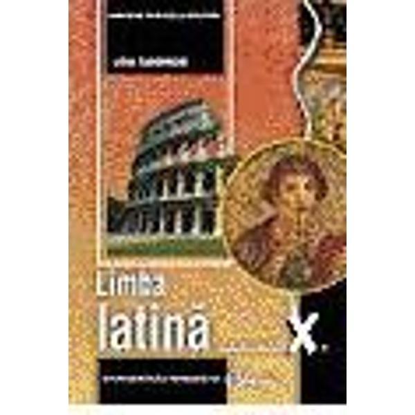 Limba latina cls X