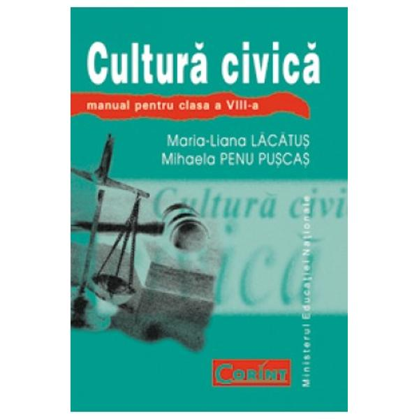 Cultura Civica VIII ed2008 -Limba romana