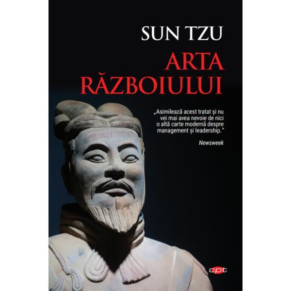 Scris în secolul al VI-lea îHrArta r&259;zboiuluieste un tratat militar din China antic&259; atribuit lui Sun Tzu general de rang înalt &537;i strateg cunoscut pentru campaniile militare victorioase pe care le-a condus în vremea lui Confucius Cele 13 capitole ale lucr&259;rii discut&259; pe rând fiecare aspect important de care trebuie &539;inut cont într-o lupt&259; de la fructificarea punctelor forte &537;i a