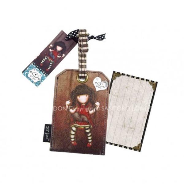 Eticheta card bagaj Gorjuss RubyEticheta card Gorjuss Ruby este folosita pentru identificarea cu usurinta a bagajului avand un finisaj foarte frumos face din aceasta un accesoriu deosebit<span xmllangro langro>Pe ambele parti ale etichetei