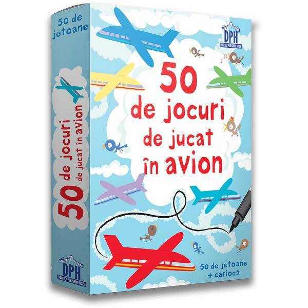 Activit&259;&539;ile incluse în acest pachet ajut&259; copiii s&259; se distreze în timpul c&259;l&259;toriei cu avionul Jetoanele con&539;in mistere de dezlegat jocuri distractive &537;i multe activit&259;&539;i interesante Deseneaz&259; &537;i scrie cu carioca direct pe jetoane Jetoanele sunt u&537;or de &537;ters astfel încât pot fi refolosite   Specifica&539;ii Vârst&259; 3