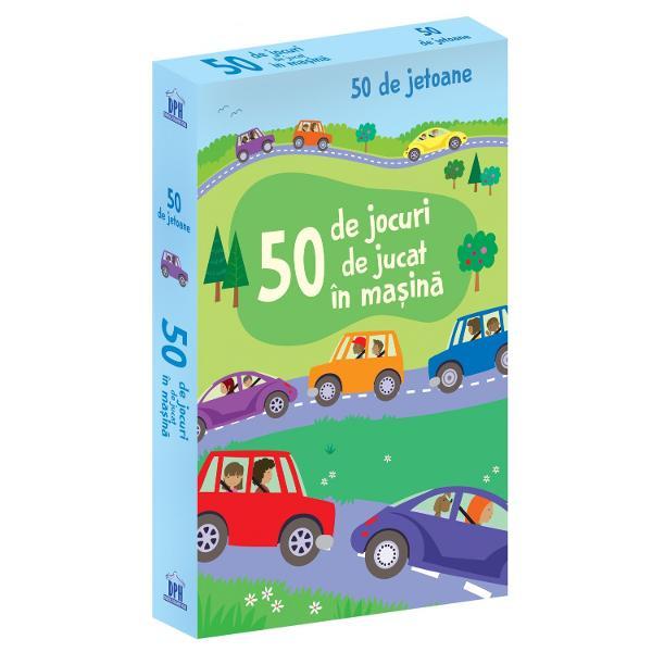 Acest pachet fantastic de jetoane este plin cu jocuri distractive pe care copiii le pot juca în timpul c&259;l&259;toriilor Agele un jeton urmeaz&259; instruc&539;iunile de pe verso &537;i distreaz&259;-te  Specifica&539;ii Vârst&259; 3 ani Jetoane 50 M&259;rimi 10x 155cm Cutie Necartonat&259;