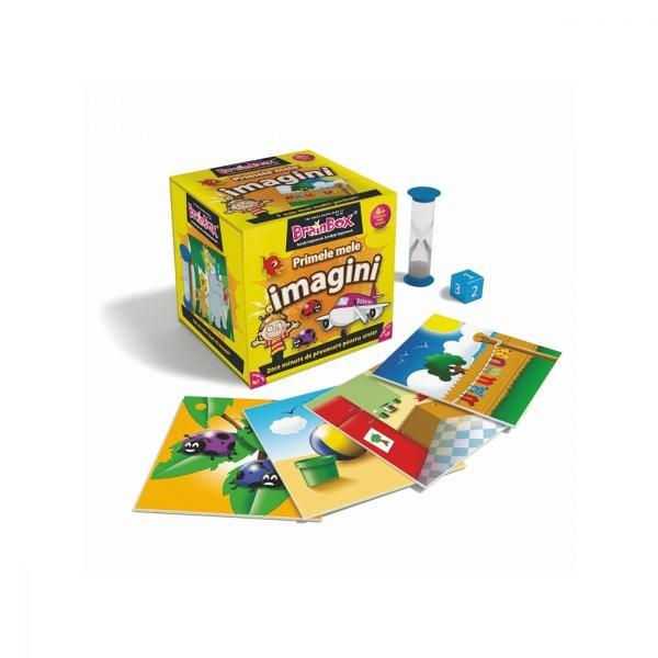 Joc educativ BrainBox - Primele mele imagini  NorielPentru Baieti FeteVarsta 4 - 5 ani 5 - 7 ani 7 - 8