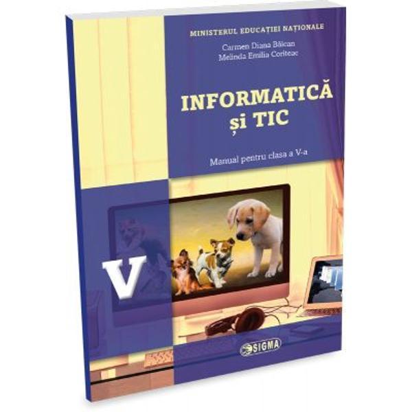 Manualul de INFORMATICA si TIC al Editurii SIGMA clasat pe primul loc in urma evaluarii de catre expertii CNEE in cadrul licitatiei din aceasta vara se evidentiaza prin calitatea continutului teoretic si a exercitiilor  aplicatiilor pe care le pune la dispozitia elevilor Este recomandat oricui doreste sa isi formeze deprinderi de utilizare a sistemelor de calcul si sa se initieze in tainele programarii